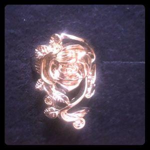 Gold Fashion Ring - Rose